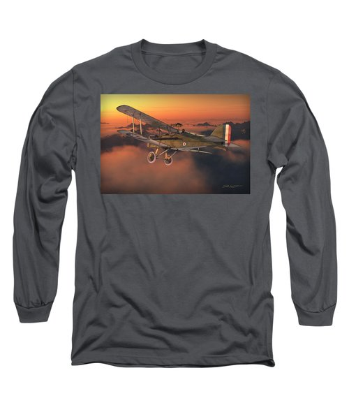 S.e. 5a On A Sunrise Morning Long Sleeve T-Shirt by David Collins