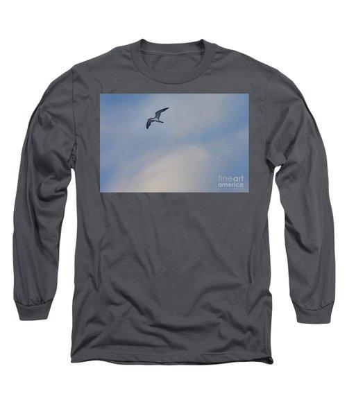 Sea Bird In Flight Long Sleeve T-Shirt
