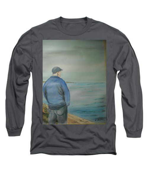 Sea Gaze Long Sleeve T-Shirt by Anthony Ross