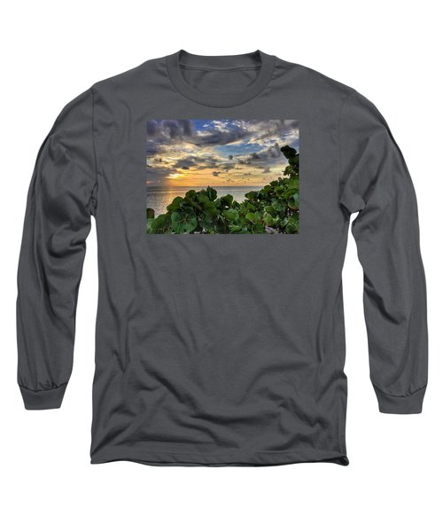 Sea Grape Sunrise Long Sleeve T-Shirt