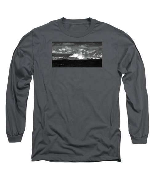 Long Sleeve T-Shirt featuring the photograph Sea Meets Sky by Nareeta Martin