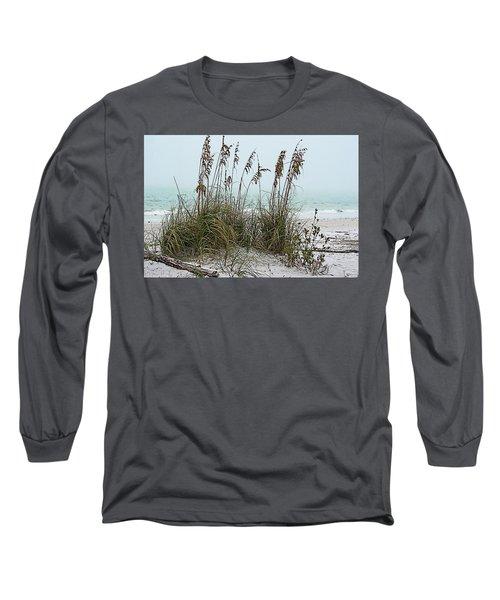 Sea Oats In Light Fog Long Sleeve T-Shirt