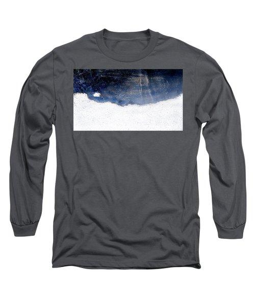 Sea, Satellite - Coast Line On Blue Ocean Illusion Long Sleeve T-Shirt