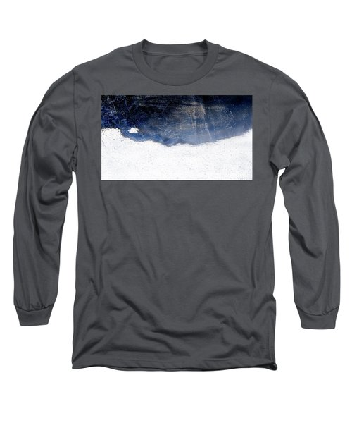Sea, Satellite - Coast Line On Blue Ocean Illusion Long Sleeve T-Shirt