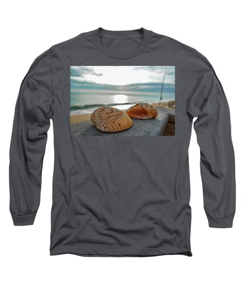 Sea Shells Long Sleeve T-Shirt by Josy Cue