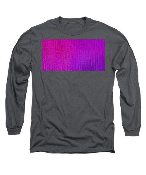 Sea Song Raspberry Sauce Long Sleeve T-Shirt