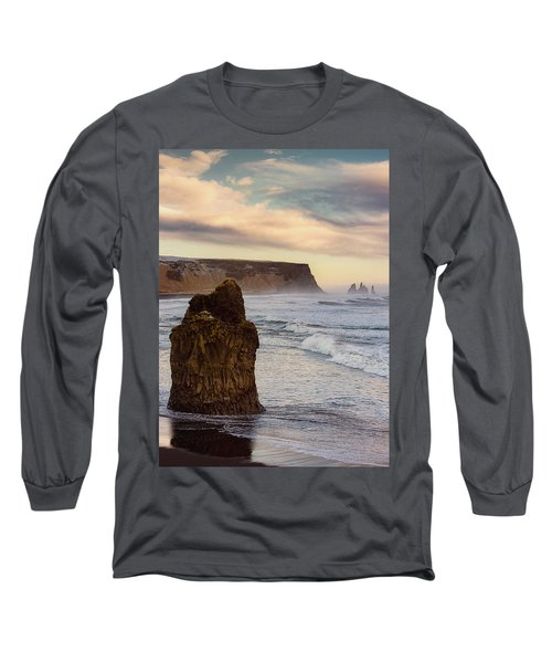 Sea Stack II Long Sleeve T-Shirt by Allen Biedrzycki