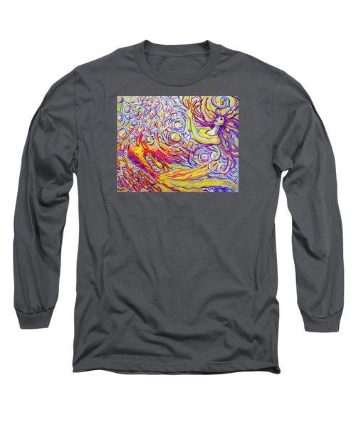Sea Star Long Sleeve T-Shirt by Jeanette Jarmon