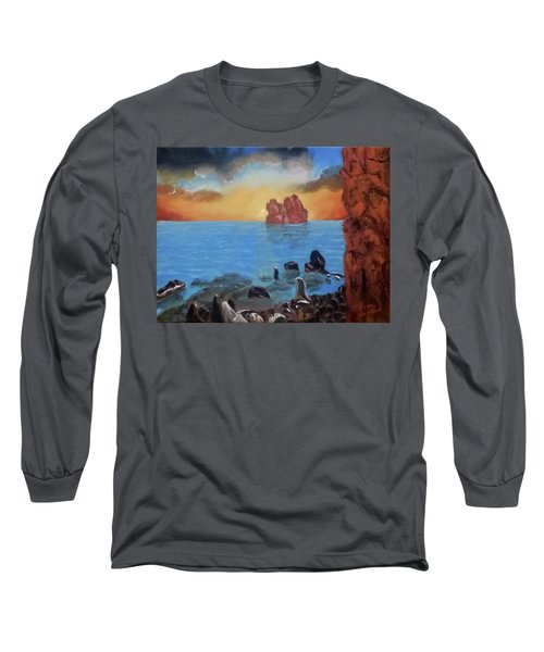 Sea Sunset Long Sleeve T-Shirt