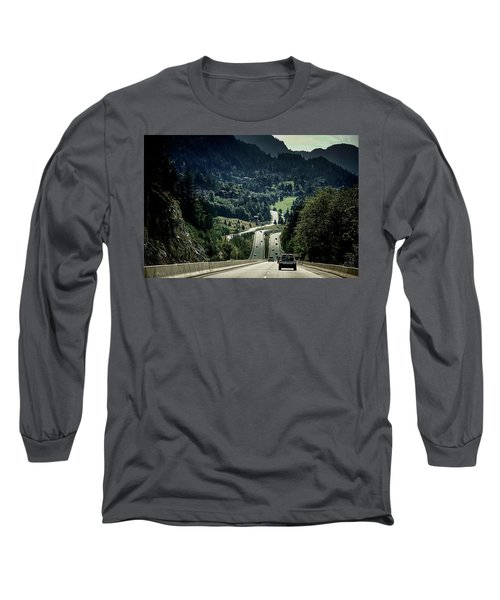 Sea To Sky Highway Long Sleeve T-Shirt