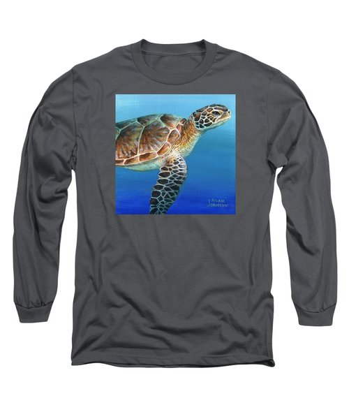 Sea Turtle 2 Of 3 Long Sleeve T-Shirt