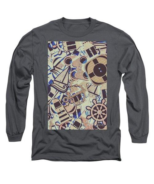Seaboard Scrapbook Long Sleeve T-Shirt