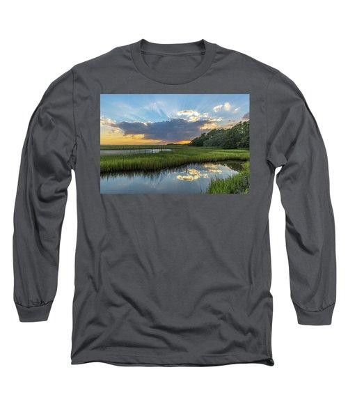 Seabrook Island Sunrays Long Sleeve T-Shirt