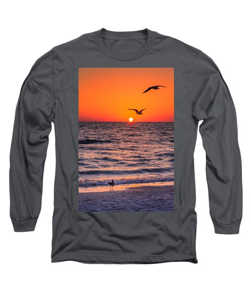Seagull Hat-trick Long Sleeve T-Shirt