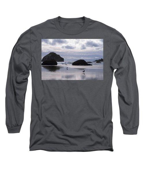 Seagull Reflections Long Sleeve T-Shirt
