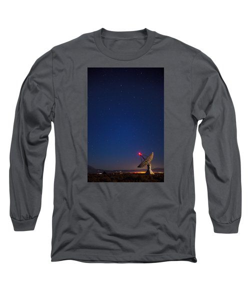 Long Sleeve T-Shirt featuring the photograph Searching by Andrew Soundarajan