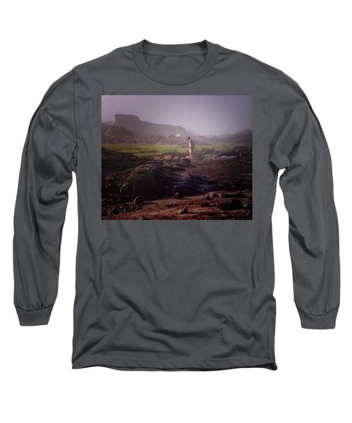 Searching For Shells Long Sleeve T-Shirt