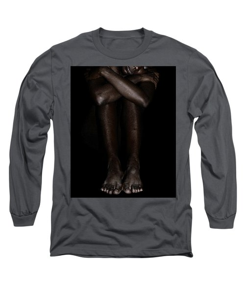 Seated Woman 2 Long Sleeve T-Shirt