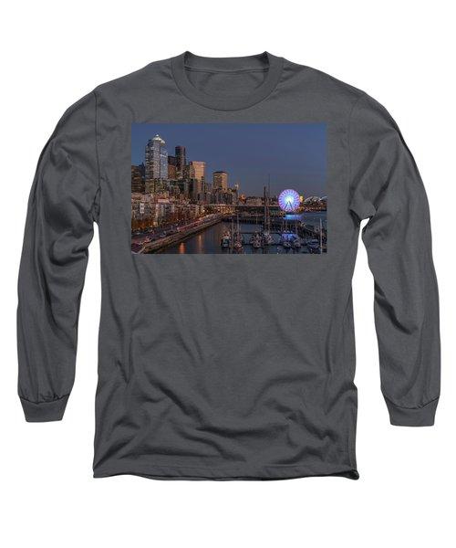 Seattle Autumn Nights Long Sleeve T-Shirt