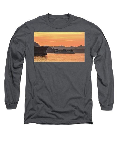 Seattle - Bremerton Ferry Long Sleeve T-Shirt