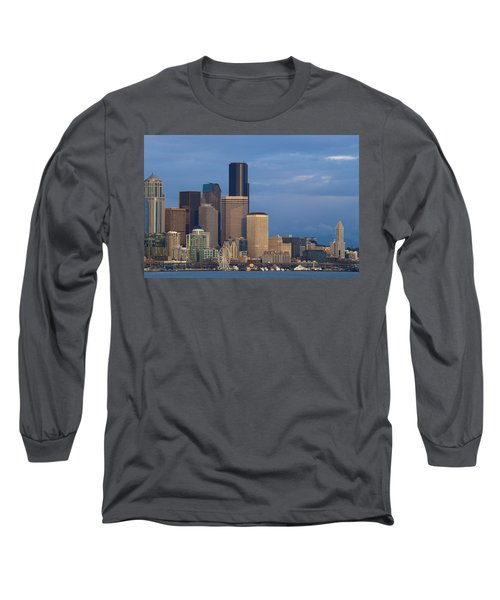 Long Sleeve T-Shirt featuring the photograph Seattle by Evgeny Vasenev