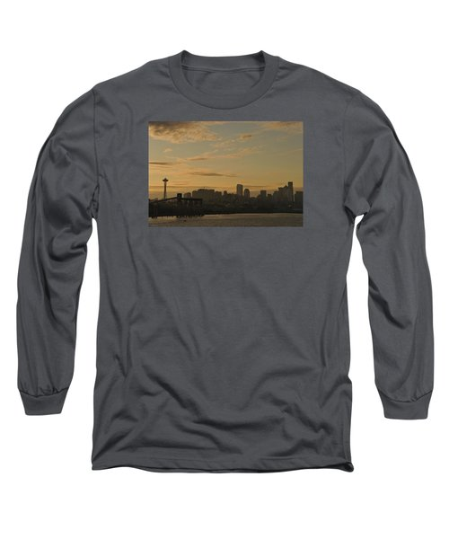 Seattle Morning Long Sleeve T-Shirt