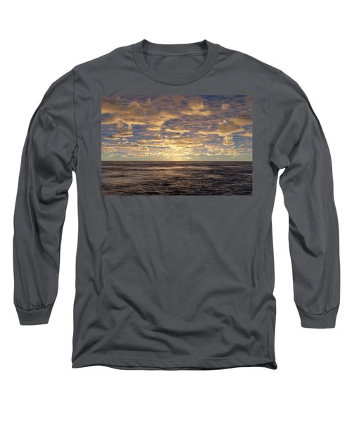 Long Sleeve T-Shirt featuring the photograph Seaview by Mark Greenberg