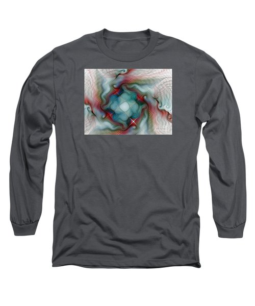 Long Sleeve T-Shirt featuring the digital art Seaworld by Karin Kuhlmann