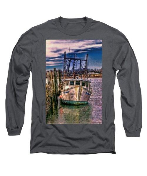 Seaworthy II Bristol Rhode Island Long Sleeve T-Shirt by Tom Prendergast