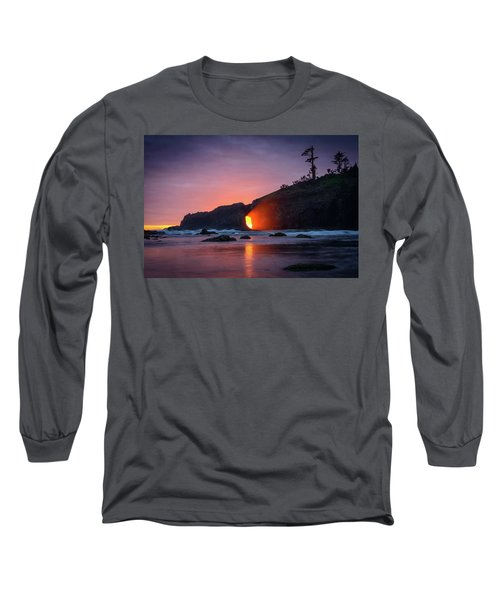 Second Beach Light Shaft Long Sleeve T-Shirt