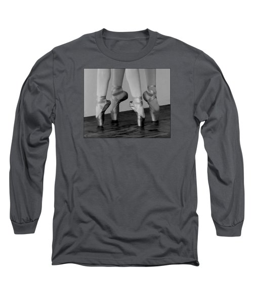 Second Position In Maximum Black Long Sleeve T-Shirt
