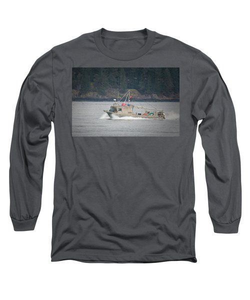 Long Sleeve T-Shirt featuring the photograph Second Wind by Randy Hall
