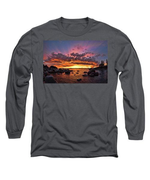 Secret Cove Sunset Long Sleeve T-Shirt