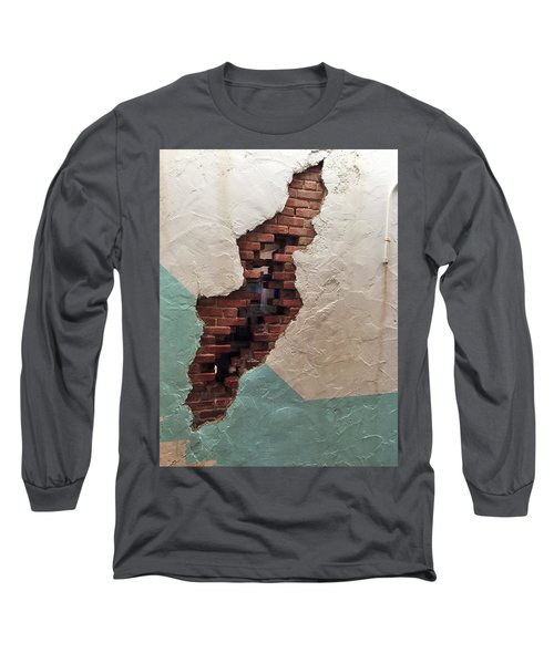 Long Sleeve T-Shirt featuring the painting Secret Escape by Peggy Stokes