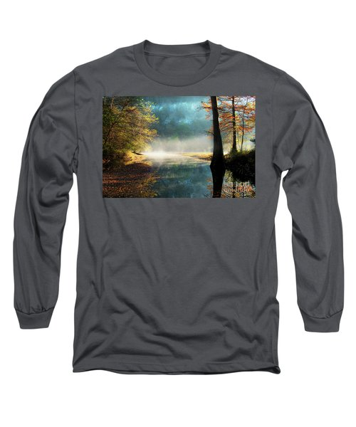 Long Sleeve T-Shirt featuring the photograph Secret Hideaway by Tamyra Ayles
