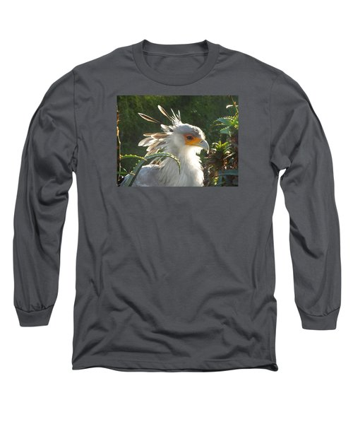 Secretary Bird Long Sleeve T-Shirt