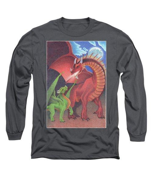 Secrets Of The Flame Long Sleeve T-Shirt