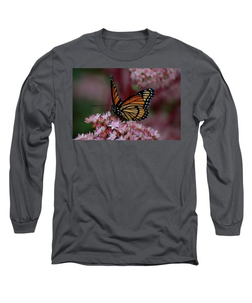 Sedum Butterfly Long Sleeve T-Shirt
