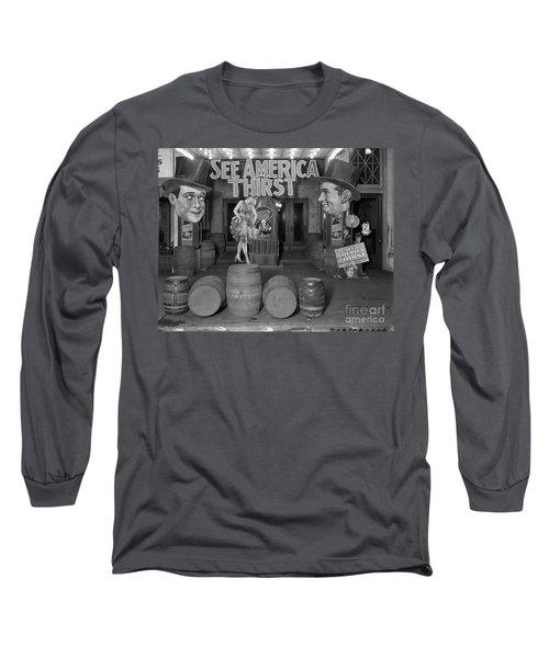 See America Thirst Long Sleeve T-Shirt