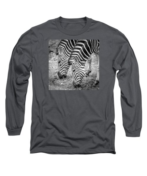 Long Sleeve T-Shirt featuring the photograph Seeing Double by Wade Brooks
