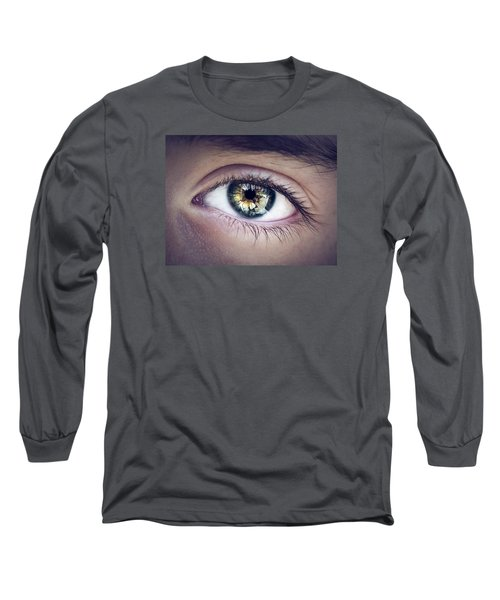 Seeing Long Sleeve T-Shirt by Scott Meyer