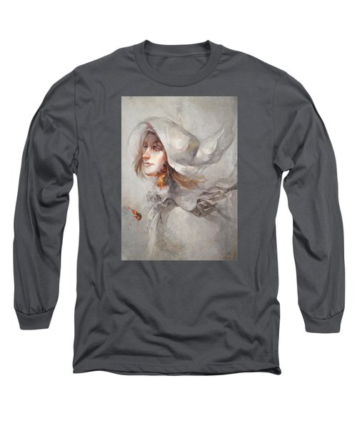 Seek V1 Long Sleeve T-Shirt by Te Hu
