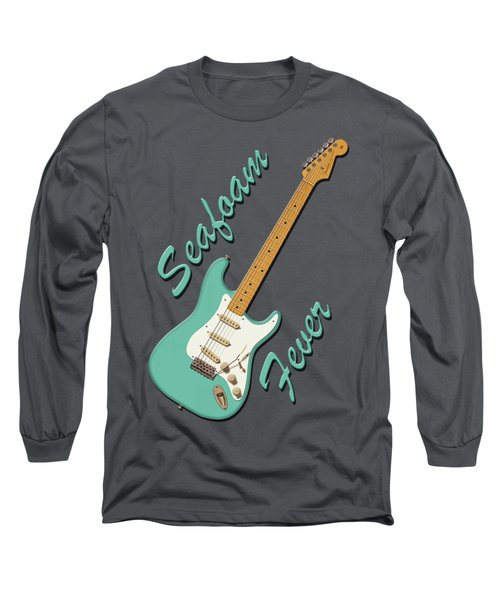 Seafoam Fever Long Sleeve T-Shirt by WB Johnston