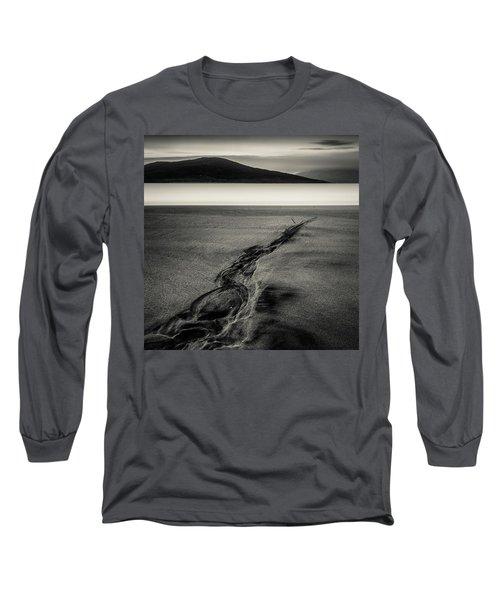 Seilebost Sand Tracks Long Sleeve T-Shirt