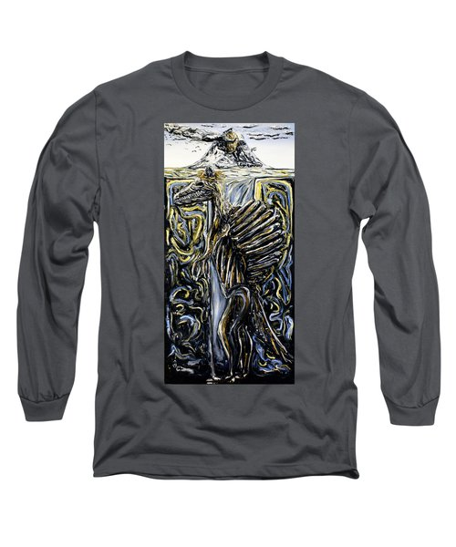 Self-portrait- Meme Long Sleeve T-Shirt by Ryan Demaree