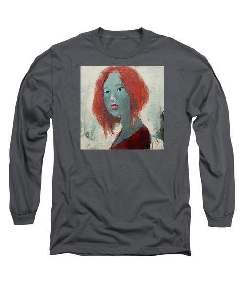 Self Portrait 1502 Long Sleeve T-Shirt by Becky Kim