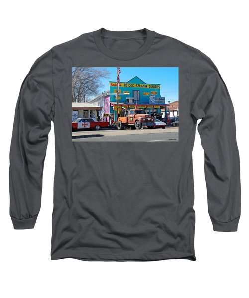 Seligman Sundries On Historic Route 66 Long Sleeve T-Shirt