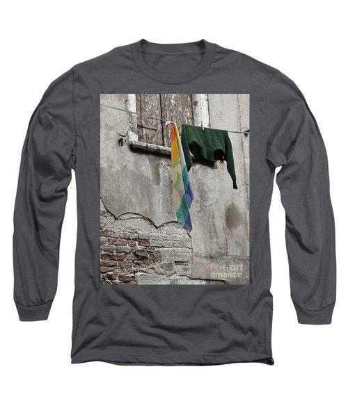 Semplicita - Venice Long Sleeve T-Shirt by Tom Cameron