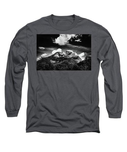 Long Sleeve T-Shirt featuring the photograph Seneca Rocks II by Shane Holsclaw