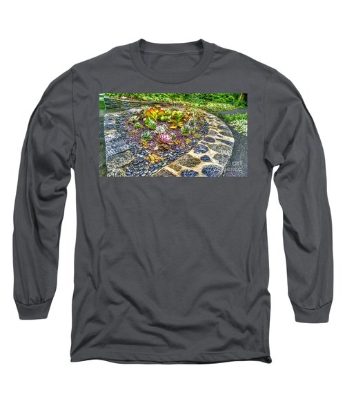 Sensory Garden At Laurelwood Arboretum Long Sleeve T-Shirt